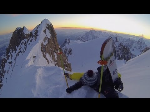 Refrescante vídeo de ascenso y descenso al mitico Mont-Blanc; por Damien Deschamps y Alex Mills para Epic TV