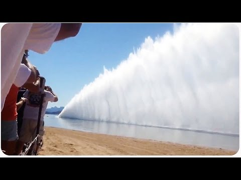 fuel - While at Lake Havasu, these dragsters take their boats and race on the water! When they take off, they create a wall of water down the race line! Original Link: https://www.youtube.com/watch?v=w3D1...