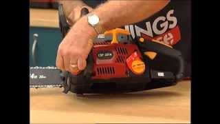 how to use a chainsaw do it yourself
