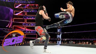 Nonton Noam Dar vs. TJP: WWE 205 Live, July 3, 2018 Film Subtitle Indonesia Streaming Movie Download