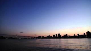 【Time Lapse】TOKYO NIGHT VIEW 1 - 晴海埠頭 -