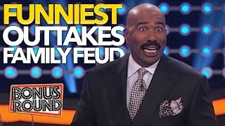 Video FUNNIEST OUTTAKES On Celebrity Family Feud! Some Answers Stump Steve Harvey! Bonus Round MP3, 3GP, MP4, WEBM, AVI, FLV Desember 2018