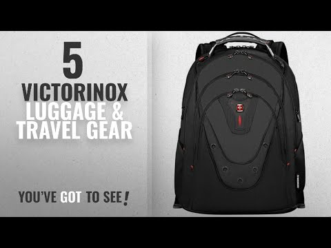Top 10 Victorinox Luggage & Travel Gear [2018]: SwissGear Ibex Backpack With 17
