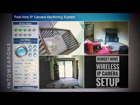 Home Security: Foscam FI8910W Wireless IP Camera