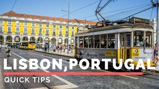 Lisbon Video: https://youtu.be/Jq5CVSl7yY4Lisbon Tips on how to have a quick trip in lisbon. In This Video I go over:-Getting from the Airport to the City center of Lisbon-Where to Stay -What to do-Foods to try-Pricing in Lisbon and so on. Neighborhoods In Lisbon to stay in:1. Baixa-ChiadoThis is the heart, the center of Lisbon located near the Praça do Comércio, and surrounded by attractions, cafes and restaurants, public squares, and plenty of transportation options. One of the benefits of staying at a hotel in Baixa-Chiado is that you can walk to many places and you'll be right in the center of Lisbon action. 2. Santo AntonioThe area of town opens up more with more space and it's home to Avenida da Liberdade which is a huge tree lined boulevard known for shopping and designer brands.3. Barrio AltoBarrio Alto is a beautiful hilly district of Lisbon where you'll find narrow lanes and plenty of local culture. There are many restaurants, cafes, and bars, tucked within Barrio Alto, and it's also known for being one of the centers of Lisbon nightlife. 4. AlfamaBeing the oldest neighborhood in Lisbon, Alfama has a beautiful charm to it and is home to a few of Lisbon's most famed attractions like the Lisbon Cathedral.We stayed at Travellers House Hostel:http://www.travellershouse.com/th/home.html