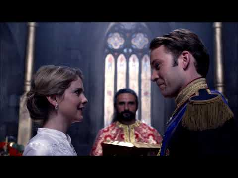 Wedding scene~A Christmas Prince: The Royal Wedding