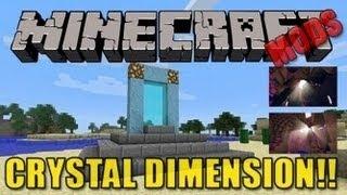 Minecraft Mods - Crystal Dimension