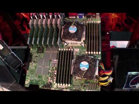50顆SSD組成的超級個人電腦!