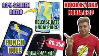Nokia X71 Aka Nokia 6.2 | 48 MP Camera | Punch Hole Camera | Full View Display | Bas Ek Kami Hai