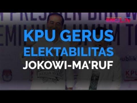 KPU Gerus Elektabilitas Jokowi-Ma'ruf