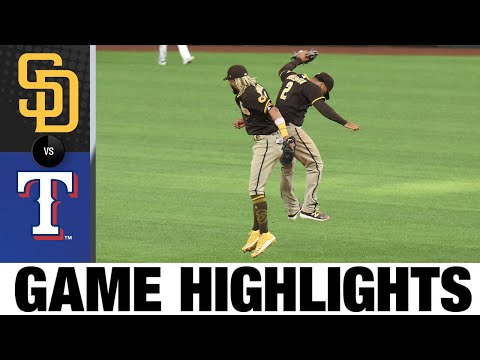 Will Myers, Jurickson Profar power Padres to win | Padres-Rangers Game Highlights 8/18/20