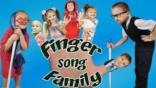 Finger Family Song ( Daddy Finger )/ Extended Family Nursery Rhymes