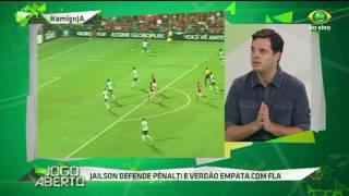 Com boa atuação de Jaílson no empate contra o Mengão, Chico acredita em sequência do camisa 14 na meta palestrina e não demonstra confiança na defesa alviverde.