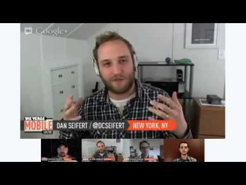 The Verge Mobile Show 027 - November 27th, 2012