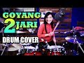 Download Lagu Sandrina - Goyang 2 Jari | Drum Cover by Nur Amira Syahira Mp3 Free