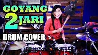 Video Sandrina - Goyang 2 Jari | Drum Cover by Nur Amira Syahira MP3, 3GP, MP4, WEBM, AVI, FLV Juni 2018
