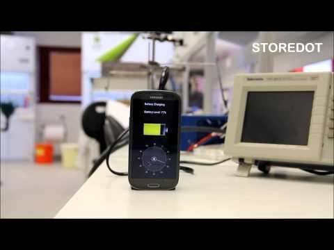 come caricare la batteria di uno smartphone in soli 30 secondi!
