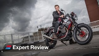 2. 2014 Moto Guzzi V7 Racer bike review