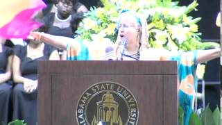 Rev Dr E-K Daufin, Communications Prof, Spoken Word, HBCU Land Grant, Research and Creative Activity Performance at Alabama State University Honors ...
