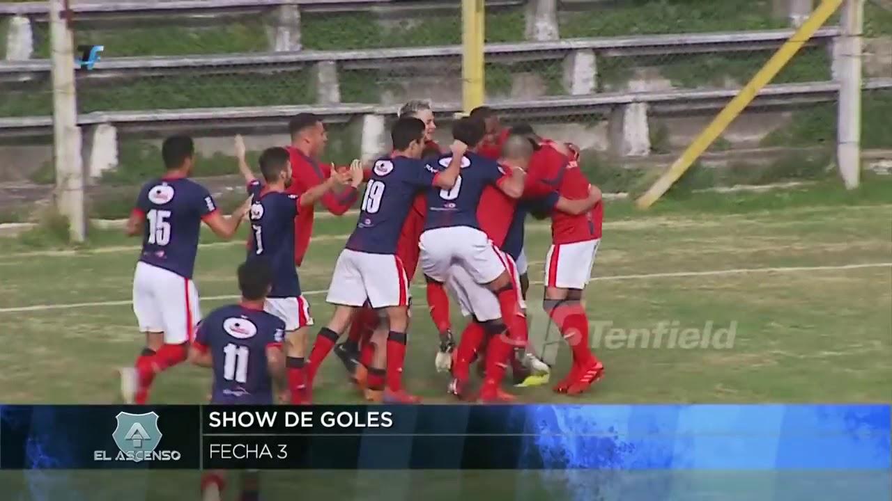 2a División   Show de goles de la 3a fecha del Campeonato Uruguayo 2019