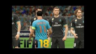 FIFA 18: INDIA vs. Real Madrid Gameplay (PC - iMac)