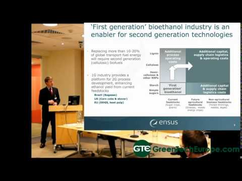 Ensus Presentation: Biorefining