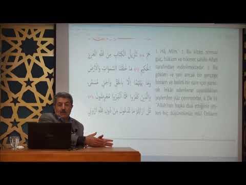 Tuncer Namlı - Ahkâf Suresi (1 - 20) Ayetlerin Tefsiri