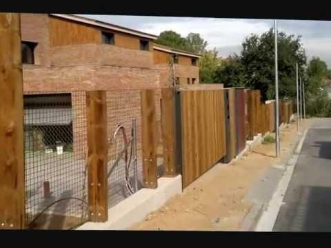 Cercados de fincas videos videos relacionados con for Aki vallas jardin