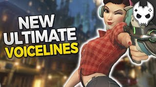 Overwatch New Ultimate Voicelines for Genji and Dva #overwatch💙 Get COOL rewards and support the channel! https://www.patreon.com/blamethecontroller🔹 Check out more TOP 5, Tips, and Guides below 🔹Hey! Hit that Like button and leave a comment!● Subscribe - http://bit.ly/SubscribeBTC ● TwitchTV - http://www.twitch.tv/blamethecontroller● Twitter - http://twitter.com/BlameTC● Instagram - http://instagram.com/blamethecontroller● Facebook - http://www.facebook.com/BlameTheController● Discord Server - https://discord.gg/blamethecontrollerSupport BTC on Patreonhttps://www.patreon.com/blamethecontrollerSupport BTC on Gamewisphttps://gamewisp.com/blamethecontroller♦♦  T-SHIRT  SHOP ♦♦http://blamethecontroller.spreadshirt.com/♦ Send me FanmailBTC  P.O. Box 97Spring, TX 77383🔸 Doomfist Ability Breakdown https://www.youtube.com/watch?v=dR9L4nmWoQc🔸 Doomfist Mythbusting https://www.youtube.com/watch?v=CtrasJIHMY4🔸 Doomfist All Skins https://www.youtube.com/watch?v=G3ANkZUyHOg🔸 Doomfist Gameplay Part 1 https://www.youtube.com/watch?v=2B4karTWAL0🔸 Doomfist Gameplay Part 2 https://www.youtube.com/watch?v=rhyT6ZKSygY🔸 ORISA TOP 10 Tips: https://www.youtube.com/watch?v=Ch_ZbAqjca8🔸 TOP 5 TIPS and Tricks:  https://www.youtube.com/watch?v=3dEIQ6qrH1g🔸 TOP 5 TIPS for TEAMWORK: https://www.youtube.com/watch?v=0pseL1QkMGs🔸 TOP 5 TIPS for HERO PICKS:  https://www.youtube.com/watch?v=RFTzCy6u11M🔸 TOP 5 TIPS for IMPROVING AIM: https://www.youtube.com/watch?v=71fehVACdyc 🔸 TOP 5 TIPS FOR CUSTOMIZATION: https://www.youtube.com/watch?v=ps8bZ_FjHBM🔸 TOP 5 Best Teams for 3v3 https://www.youtube.com/watch?v=2cYk-Gdeabc🔸 Sombra Top 10 Tips: https://www.youtube.com/watch?v=BIW-gudOn18🔸 Overwatch Mythbusters - Sombra Teleporting: https://www.youtube.com/watch?v=JWHmukikcSQ🔸 Overwatch Mythbusters - Sombra Invisibility: https://www.youtube.com/watch?v=hHDYCIb70fQ🔸 Overwatch Mythbusters - Sombra Hack and EMP: https://www.youtube.com/watch?v=b_y8X4ORSjM🔸 How to Win 1v1 Guide - Offense Heroes https://www.y