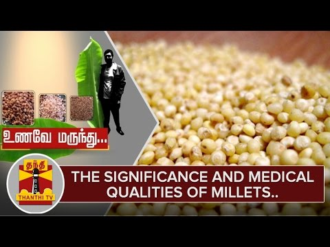 Unave-Marundhu--The-Medical-Qualities-of-Millets-தினை-Special-Report-Thanthi-TV-08-03-2016