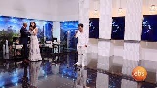 EBS Fasika Special Show: Asfaw Meshesha dancing with Ruth Araya