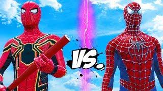 Video SPIDERMAN VS IRON SPIDER - EPIC SUPERHEROES BATTLE MP3, 3GP, MP4, WEBM, AVI, FLV November 2018