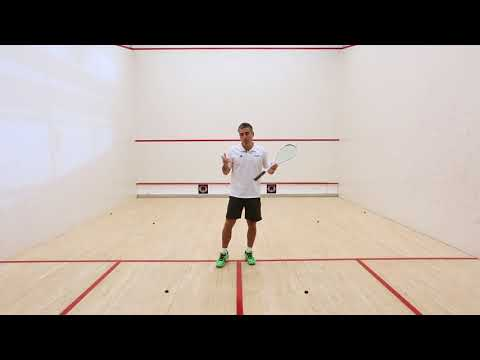 Squash coaching: Improve your movement with Thierry Lincou!