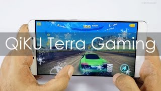 QiKU Terra Smartphone Gaming Review with Heavy Games
