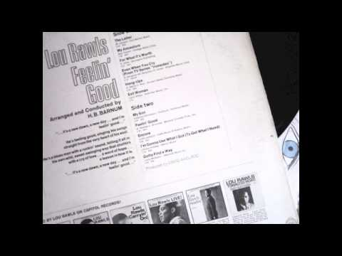Tekst piosenki Lou Rawls - Feeling Good po polsku