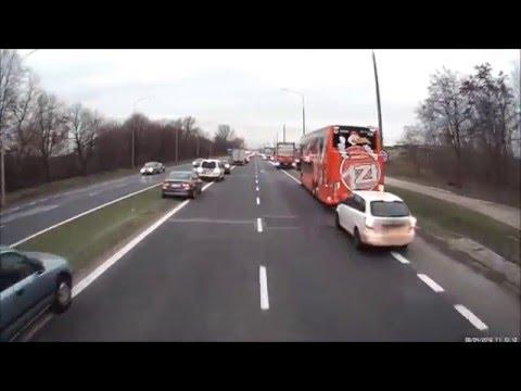 Pięknie się to ogląda! Tunel życia w wykonaniu polskich kierowców!