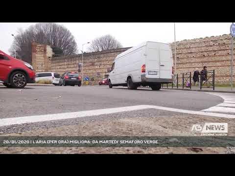 20/01/2020   L'ARIA (PER ORA) MIGLIORA: DA MARTEDI' SEMAFORO VERDE