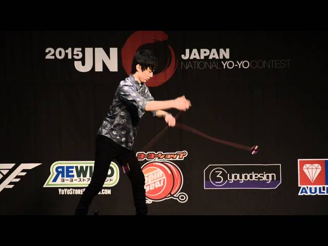 C3yoyodesign present JN 2015 3A Champion Tomoya Kurita