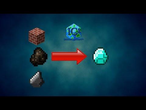 Как сделать авто ферму алмазов из угля IndustrialCraft 2 и BuildCraft как ферма
