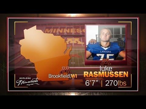 HIGHLIGHTS: OL Luke Rasmussen