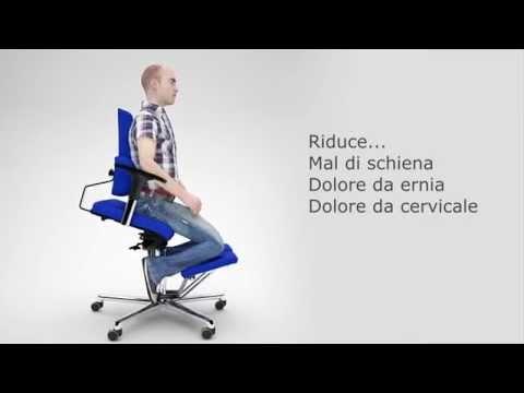 Sedia ergonomica da ufficio Komfort Chair