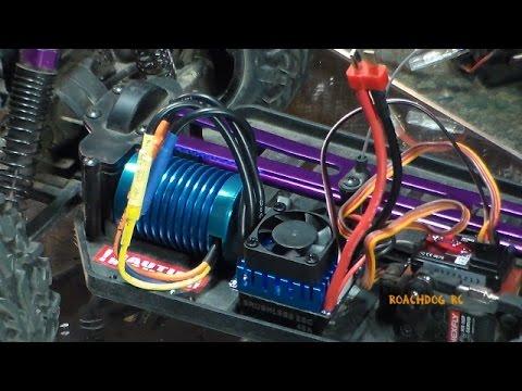 Redcat Volcano EPX New motor & ESC (видео)