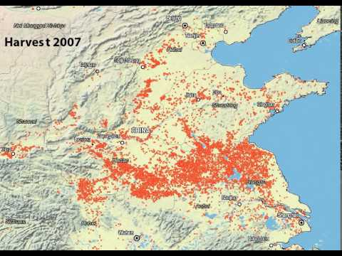 Post Harvest Fires on the North China Plain