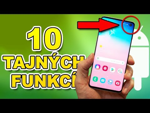 TOP 10 Tajné funkce mobilu o kterých 90% lidí neví