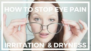 "In this video I show you all the things I've used to completely get rid of eye pain, dryness, and irritation. When implement all of these tips I feel great, and experience none of the usual pain that I get for various reasons. Again, if you're experiencing significant eye pain, you should always go to a doctor to make sure you're okay!FIRMOO BOGO COUPON CODE: Firmoo Glasses:  S947Buy one pair and get one pair for FREE from http://bit.ly/bogofirmooglassesCooperation email: service@firmoo.comMusic: ""Samba Me Samba You"" by cssmusic. Audiomicro library royalty free, creative commons license.♥♥♥♥♥♥♥♥♥♥♥♥♥♥♥♥♥♥♥♥♥♥♥♥♥♥♥♥♥♥♥♥♥♥♥♥♥♥♥♥♥♥♥♥Follow Katrinaosity...On Etsy ♥ http://www.etsy.com/shop/katrinaosityOn Facebook ♥ https://www.facebook.com/pages/Katrinaosity/166748913427585On Tumblr ♥ http://katrinaosity.tumblr.com/On Twitter ♥ https://twitter.com/KatrinaosityOn Pinterest ♥ http://pinterest.com/katrinaosity/On Polyvore ♥ http://www.polyvore.com/katrinaosity/♥♥♥♥♥♥♥♥♥♥♥♥♥♥♥♥♥♥♥♥♥♥♥♥♥♥♥♥♥♥♥♥♥♥♥♥♥♥♥♥♥♥♥♥♥Mail:Katrina SherwoodPO Box 1126 Culver City, CA90232Hi, I'm Kat, and I make lots of DIY videos, about everything from DIY jewelry, home decor, gifts, and crafts, to Gluten Free recipes, No-poo hair care, DIY hair extensions, how to make sugaring wax and arabic wax for natural hair removal, and how to make a bracelet out of a toothbrush. Here you can watch videos about friendship bracelets, whitening your teeth with activated charcoal, or even skip on over to my second channel for Story Time videos and vlogs!Shiny, Pretty Things!"