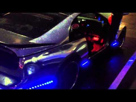 Chrome Fairlady Z32TT LEDs light Nopi 2013 Car Show Vid#1