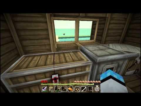當個創世神 小白的水上浮島極限生存EP 1免費房屋
