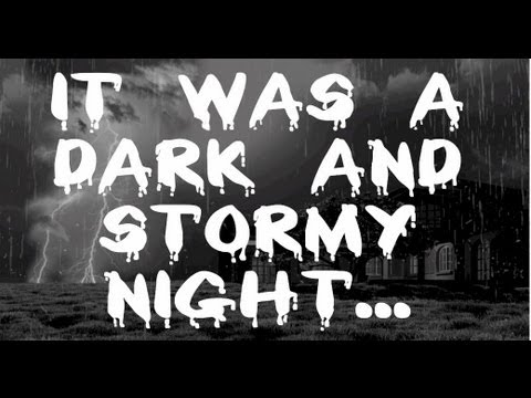 storm - Eight hour long version of our ' It was a Dark and Stormy Night... ' to help you sleep all night long. This haunting and scary nature sound video adds some s...