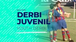 Video Young Messi faces Espanyol B MP3, 3GP, MP4, WEBM, AVI, FLV Desember 2018