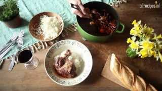 Coq au vin - authentiek Frans recept